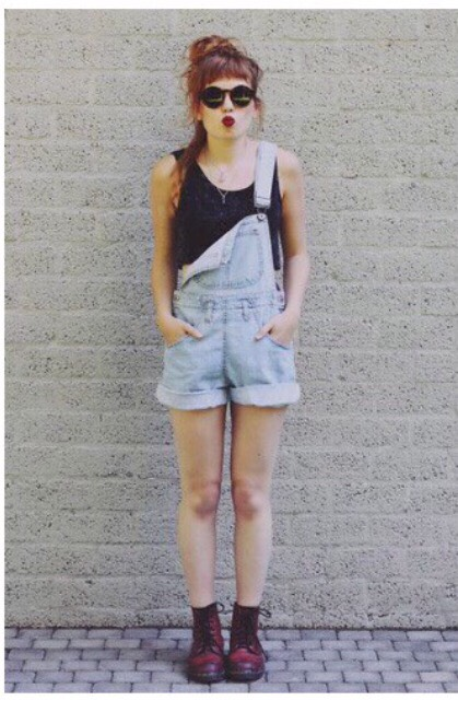 Overalls tie any docs together in a outfit