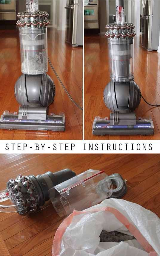 32.Sanitize and clean your vacuum cleaner BEFORE you vacuum all of the carpets and floors in the house.  Get full instructions and a pretty horrifying story that explains why you need to do this regularlyhere.