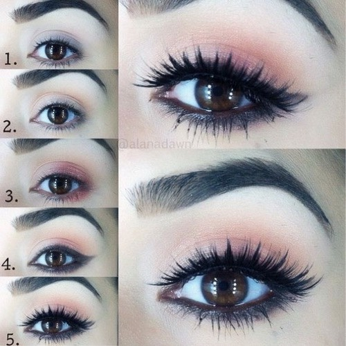 How To Do Cute Makeup Step By