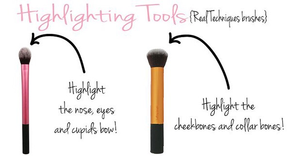 2. Figure out which brushes you need for highlighting…