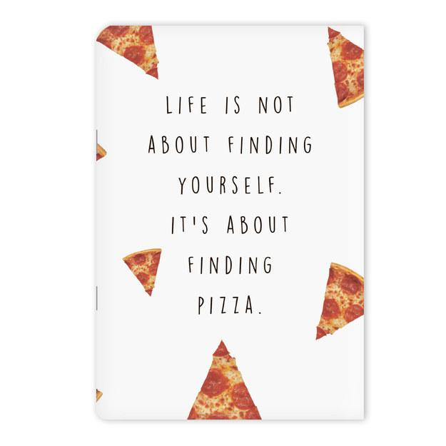 7. A notebook to fill with an ode to your favorite food.