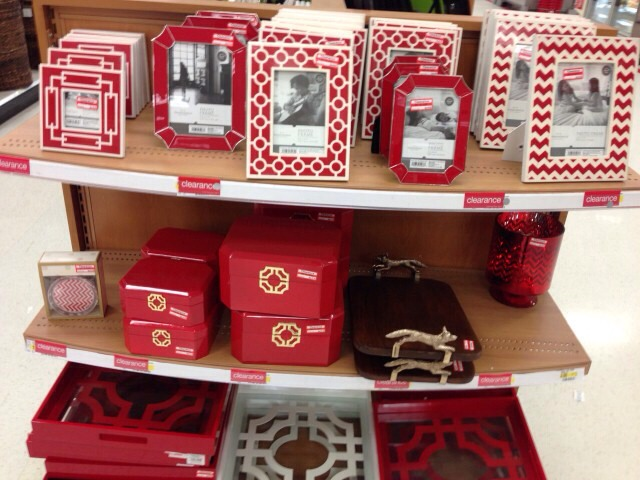 Home Decor  Picture frames, vases, pillows, and more home decor items are sold with holiday goods. If you pair red and green, they will definitely look like Christmas, but you'll find plenty of other options on the clearance shelf. Blue, white, purple, and gold are also popular color schemes