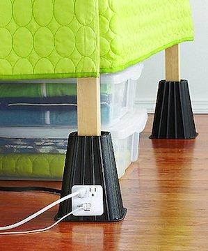 1) 7 Inch Power Bed Riser