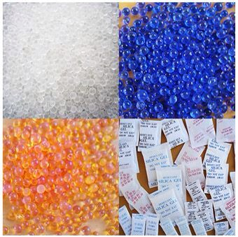 Silica Gel is a desiccant and the Packets can easily be regenerated by simply removing the moisture they absorb with heat. It has a high melting temp of 1600 degrees Celsius but can lose it's chemically bound and hygroscopic properties at around 300 degrees Fahrenheit. Colored Gels at 150. Enjoy! 😃