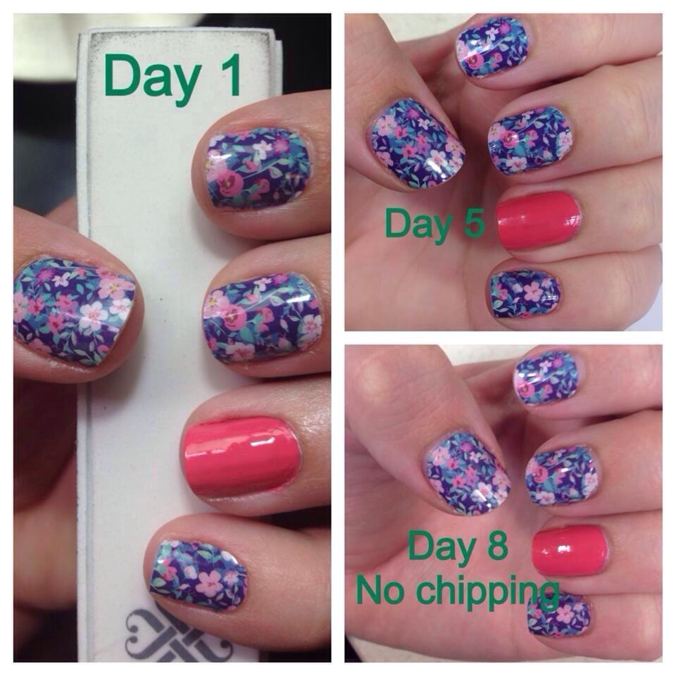 Wraps with an accent nail of lacquer; Jamberry Lacquer is just as awesome!