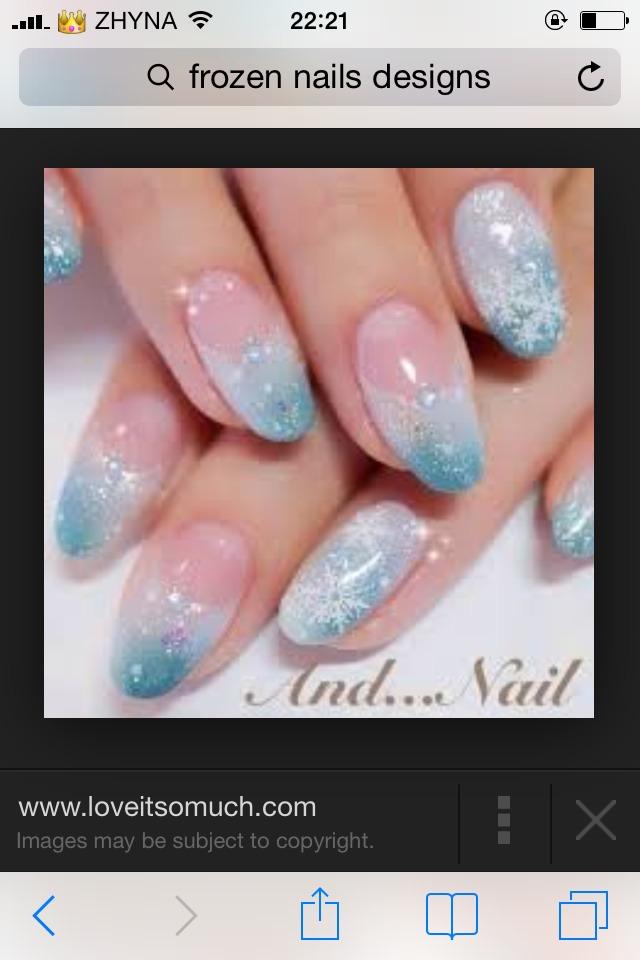 Frozen Nail Polish Youtube Hession Hairdressing
