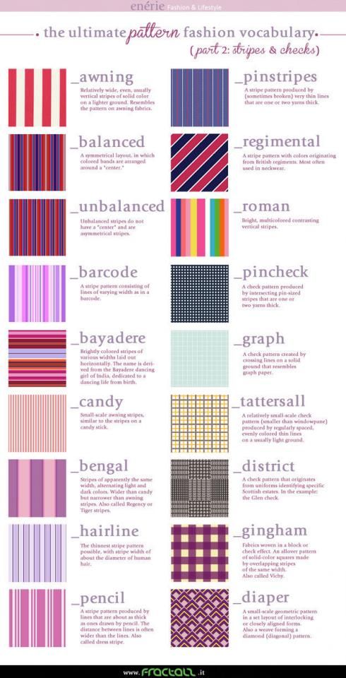 6. And style your stripes.
