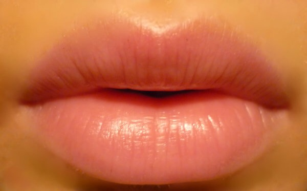 Brush lips with a toothbrush to remove dead skin, then apply baseline for instant softness.