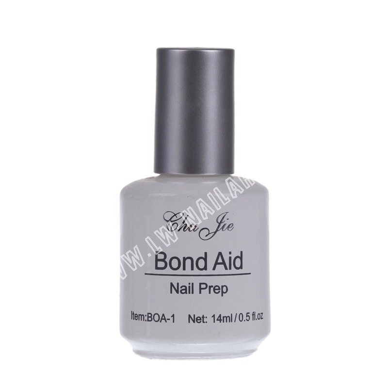 Make sure before you do anything that your hands are clean, make sure you put the primer on to prep your nail and help the glue stick the false nail on...