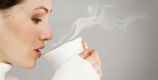 Drinking a glass of hot water at night helps in digestion and burns fat.