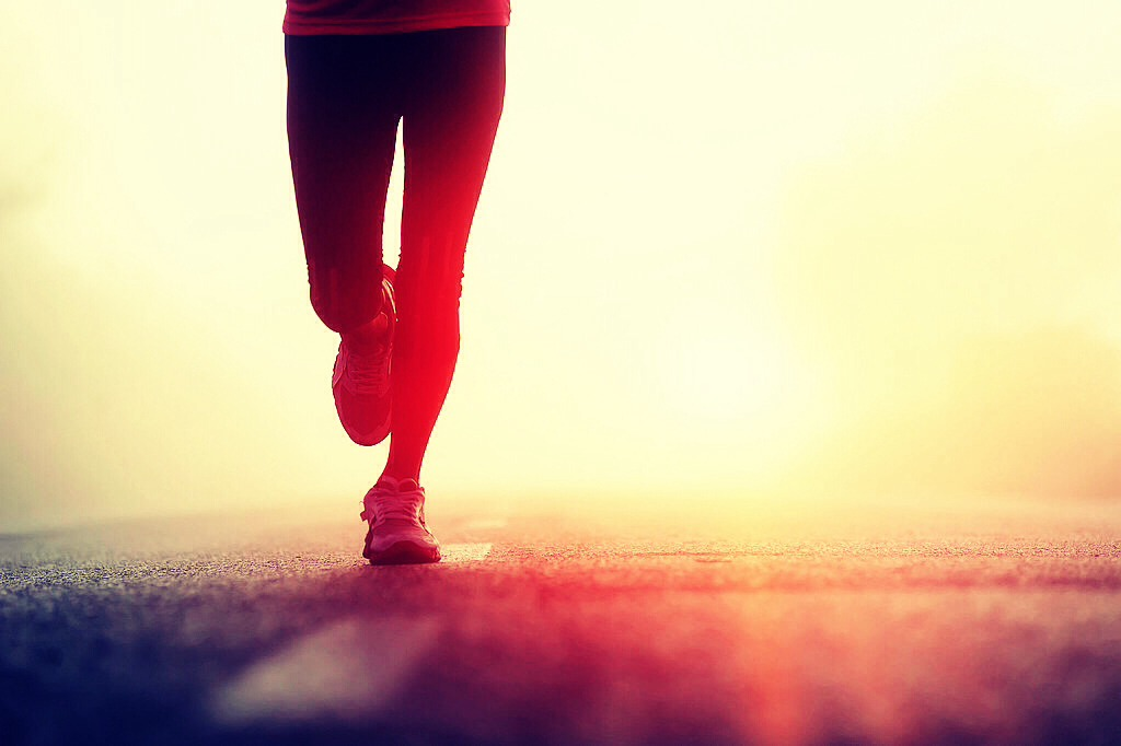 Don't start running at a fast pace take your time.