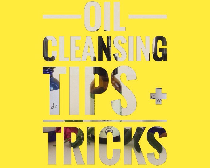 It's going to take a few days (even up to a week) for your skin to adjust to the new routine. Many commercial cleansers strip skin of its natural oils, leaving it tight. Your skin ups oil production to compensate + you get into a vicious cycle of over cleaning then over oil producing.