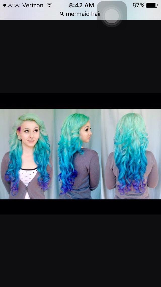 Mermaid Hair!!!