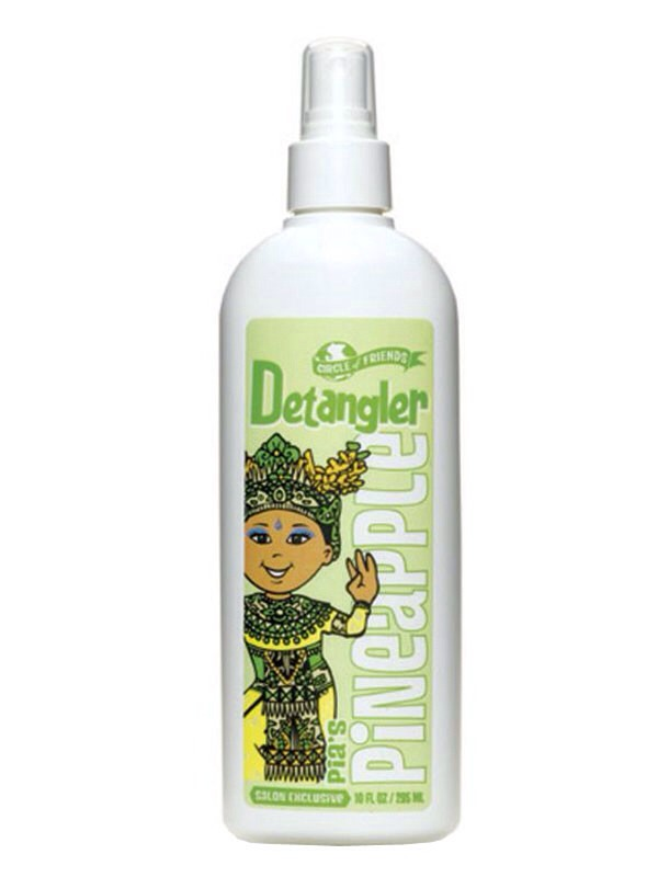 Also get a detangler! You don't have to spend much money, you can buy a kids one for a few dollars! This goes along with the detangling brush, it will help eliminate breakage so your hair can grow!