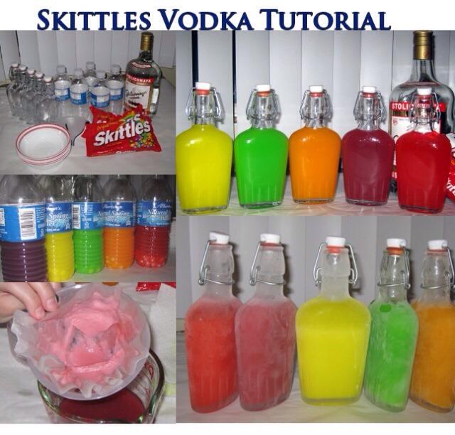 Skittles vodka :)