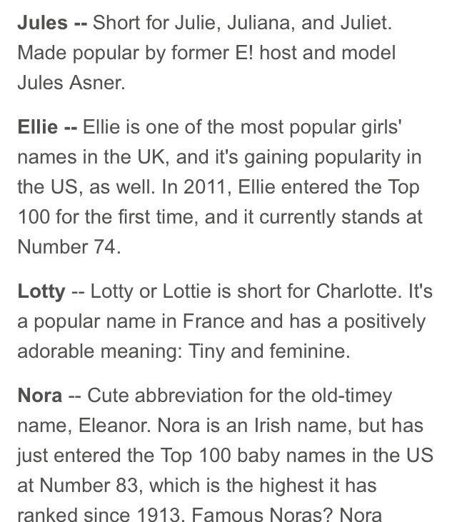 Nicknames That Go Great As First Names by Rachel Elmore - Musely
