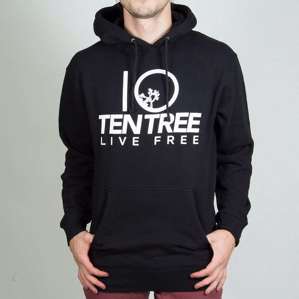 Ten Tree sells both men and women's hoodies, pants, t-shirts, baseball caps, etc. for every item sold, there are 10 trees that will be planted!