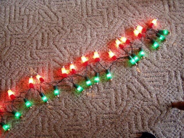 Shot Gun Shell Christmas Lights