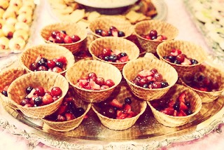 Make them smaller to make little fruit cups like these :)
