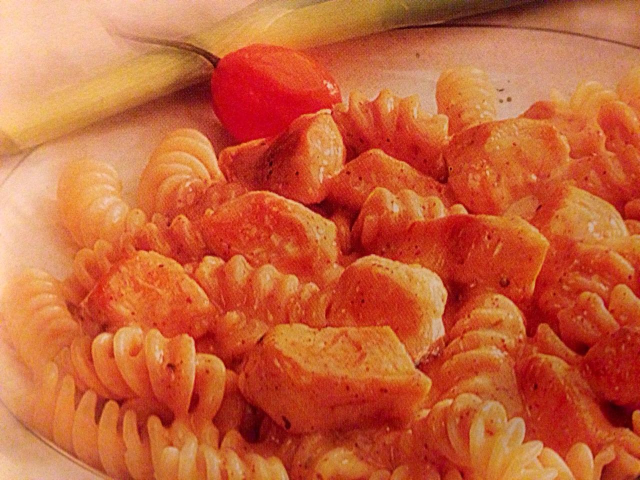 Chili Chicken Pasta Topper