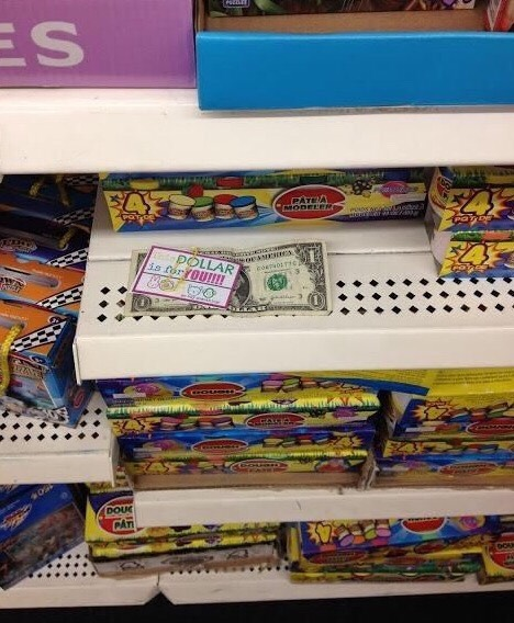 I've personally done this one, and it is so so much fun, and it's cheap! Kids will love to find a dollar that's just for them! It's also fun to kind cool places to put the dollar!