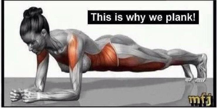 60 sec. planking