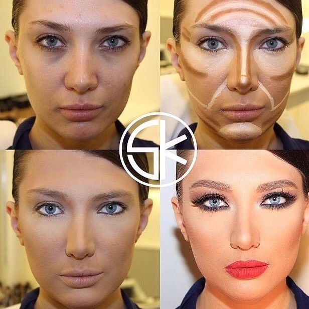 Thanks to Kim Kardashian we see lots of articles on highlighting and contouring, but what are they really?