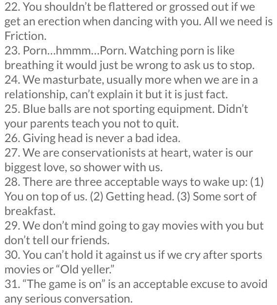 what guys wish you knew