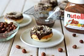 Nutella sprinkled doughnut!