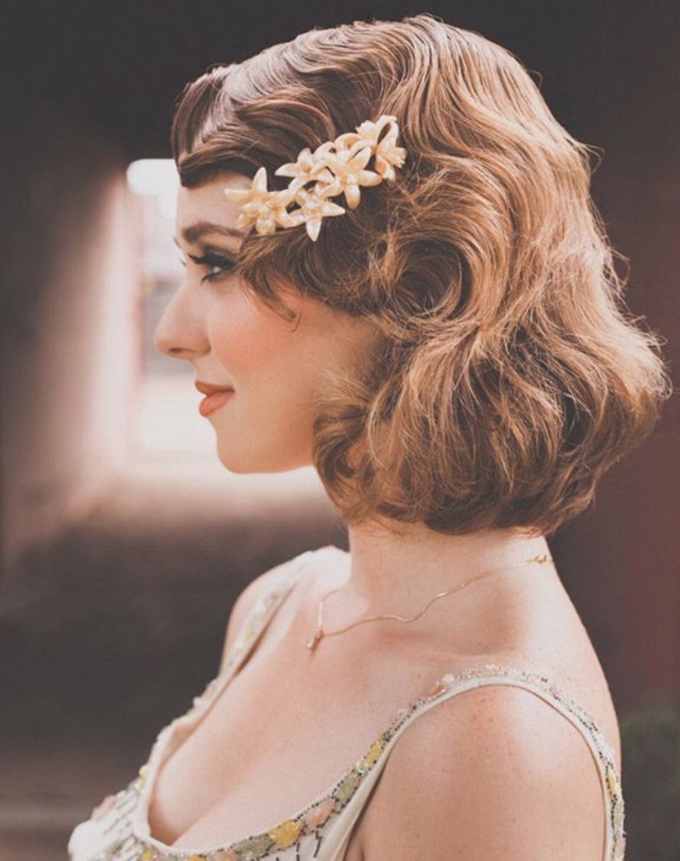 Musely: 22 Vintage Bridal Hair Ideas!! By Amanda Alcala🌸