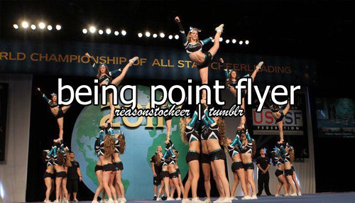 I've been flying for 6 years now and been point flyer for 3 years.  and it's honestly the best feeling ever