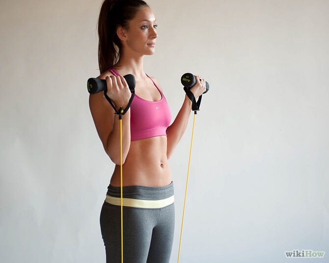 For best results do each exercise in a row then do a cardio exercise for 5 minutes, and repeat the set five times. The cardio can be jumping rope, running in place (high knees), mountain climbers, etc. Enjoy!!
