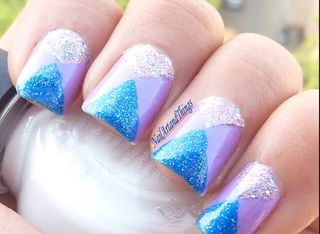 Sparkly Triangles