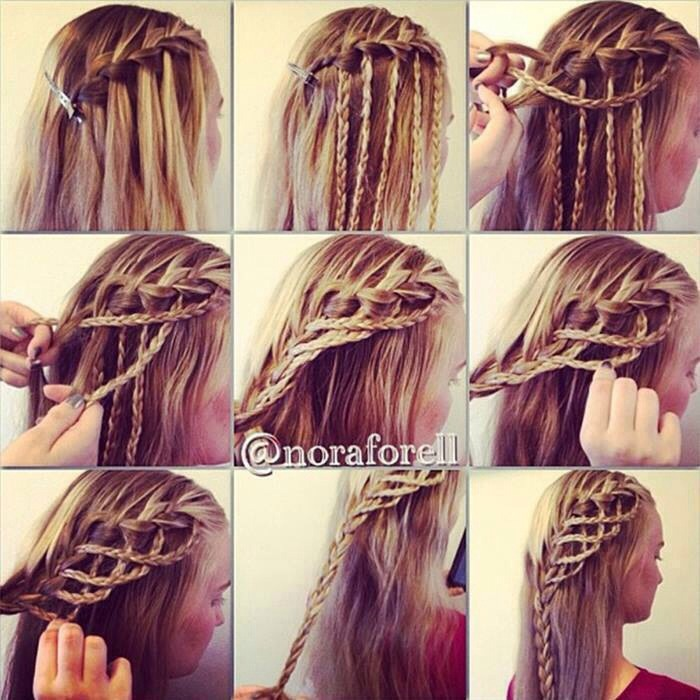 4 Different Hair Braided For Long And Medium Length Plz For