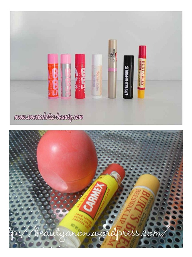 Sense right now is winter I think this are some of the best way to keep our lips moisturize they are really good so your lips don't get dry