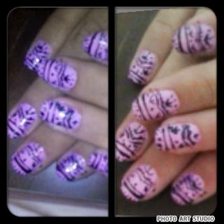 love doing nail arts