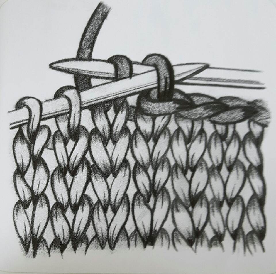 ... the right-hand needle Cut the yarn leaving enough to weave in the ends thread the end through the stitch and then slip it off the needle draw the yarn up firmly to fasten off