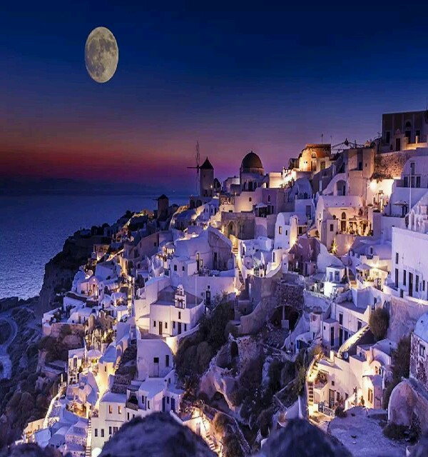 Double tap for full image          Santorini, Greece