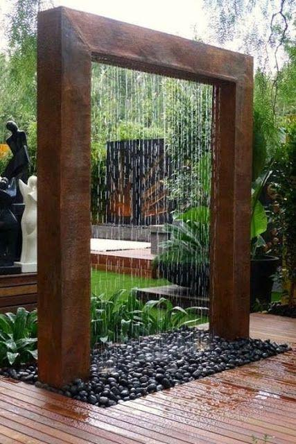 Garden Waterfall Curtain