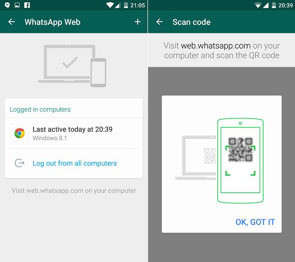 You can use WhatsApp on your internet browser.