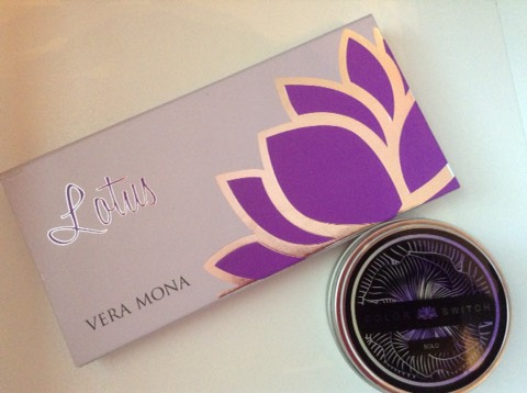 Vera Mona ColorSwitch Singleand Lotus eyeshadow palette review!!