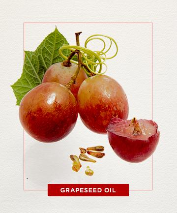 Grapeseed oil?  Yes! It's great for controlling oily skin. Even thought this is an oil, it fights oils on your face. Crazy right? It also makes the skin tighter and also has omega-6 fatty acids that help fight acne. The great thing is grapeseed oil moisturizes the skin without leaving greasy.