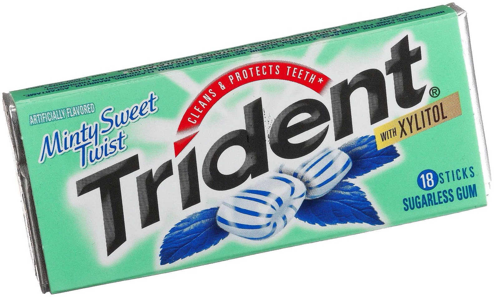 Chew sugarfree gum. With only 3 calories per stick, trident gum is one of my favorites. Sugarfree gum satisfies that sweet tooth as well as keeps our mouths busy and aids in digestion after a meal.