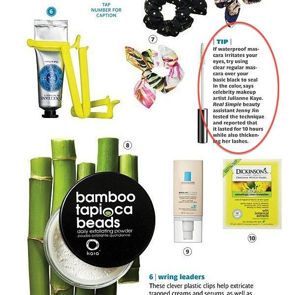 """We found this in RealSimple Mag - and we agree! Using your clear mascara over your fav black is a way to """"set"""" your lashes...kind of like a """"lash spray"""" fixative. And of course, a swipe through your brows after you fill-in with you pencil or powder gives you an amazingly professional look. Use LashControl ClearCoat and give it a """"squeeze"""". You control the amount of formula so you won't have too much of a wet look - You get what you want - every time you squeeze ;)"""
