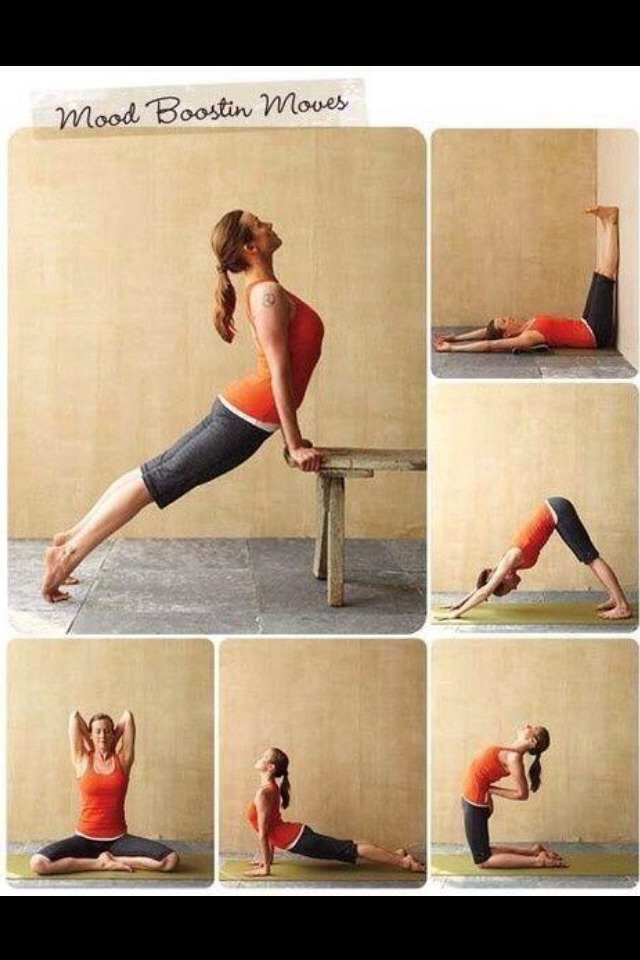 These stretches help you to relieve stress and create a relaxing mind😌