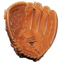 Get the right size glove not to big and not to small. It also needs to get broken in if you just bought it