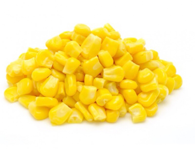 Heat up corn and top it w/ butter, salt, and/or pepper.