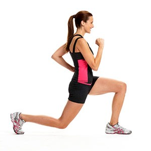 50 lunges