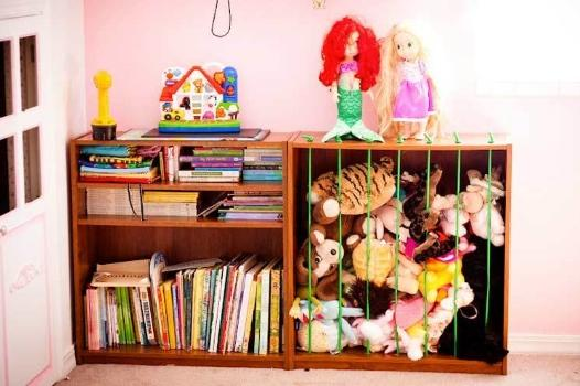 Turn A Bookshelf Into A Stuffed Animal Holder Piccollage By Mau Lyn