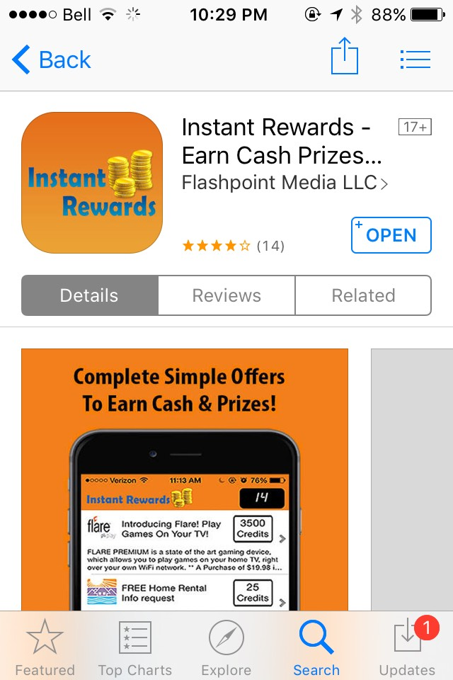 So easy to take quiz surveys and tasks and earn fast points for real rewards!